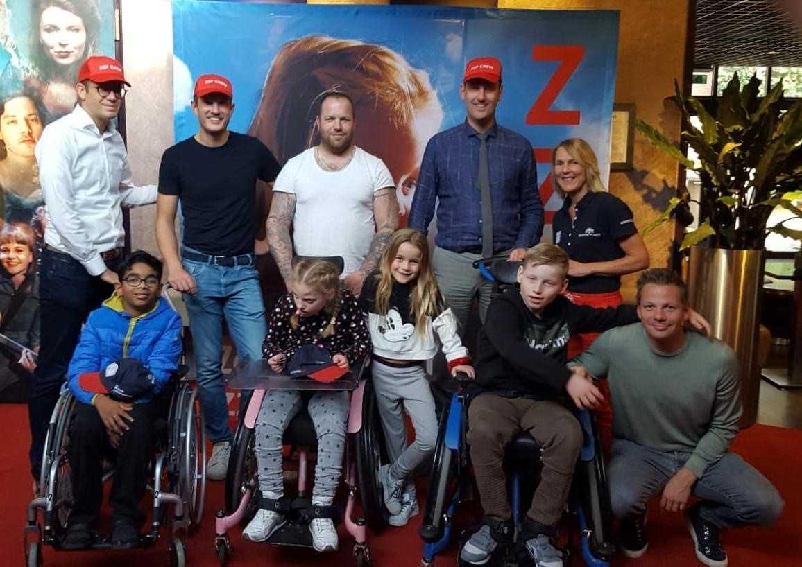 Ronde Tafel Westland.Zeldzame Ziekten Fonds Filmmiddag Voor Westlandse Kinderen